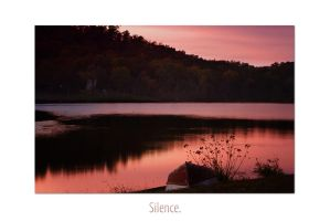 Silence by micahgoulart