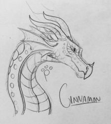 Day 2: Cinnamon for MeadowFox79 by talons-and-tails