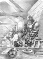 A Night at the Tavern by markg