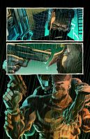 The Punisher vs. Batman / Deadly Knights - Page2 by Prenzyy