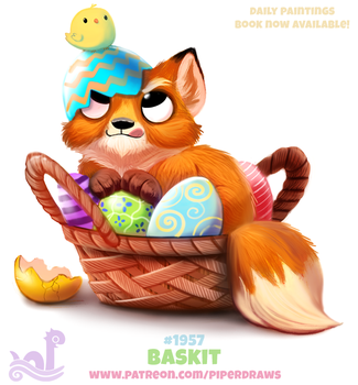 Daily Paint 1957# Baskit by Cryptid-Creations