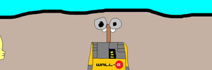 Leni and Lincoln Meeting Wall-E by MikeJEddyNSGamer89
