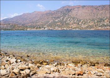 Spinalonga Beach by touch-the-sky-0