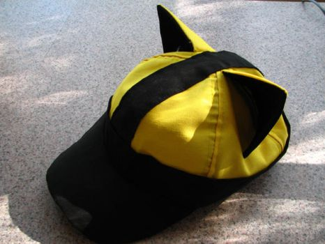 Yellow Lucario Hat by ChompUnchained