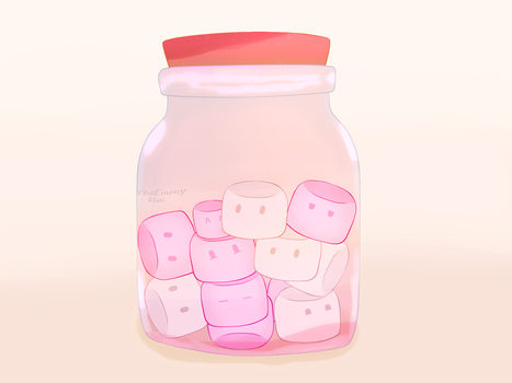 Marshmallow Jar~! by TheEmmy4501