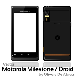 Vector Motorola Milestone by Olivers
