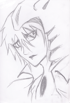 Ulquiorra Sketch by Usagi-Baka