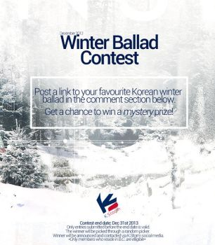SFU K.STORM Dec 2013 Winter Ballad Contest by UberzErO