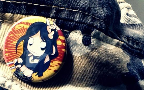 X-23 button by Laura-Kinney