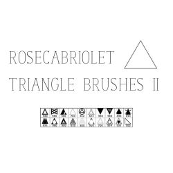 RoseCabriolet Triangle Brushes II by RoseCabriolet