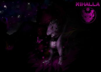 Nihalla with background | congratulations by dDarknezZ