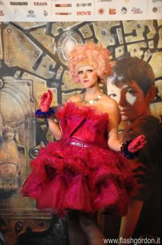 Effie Trinket cosplay by Elisa-Erian