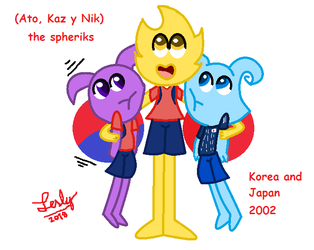 World cup mascots-spheriks by lesly-caldera12