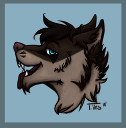 Headshot for Wolfy by VessThompson