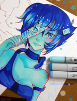 +Lapis - Breaking out - WIP+ by larienne
