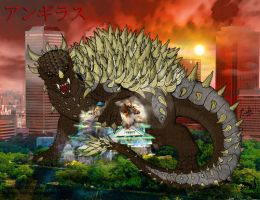Infinity Anguirus by BloodDragon3000