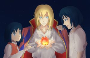 Howl's Heart by vvlove