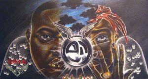 2pac and Biggie by SupaD1