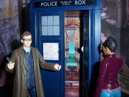 Martha Enters the TARDIS by MisterBill82