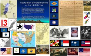 Declaration Of Independence Of The 13 Colonies by EspioArtwork