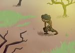 Walking For Water - Fiverr Commission by etchant