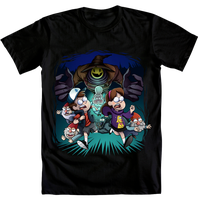 Gravity Falls design entry GO AND VOTE! :D by Loihtuja
