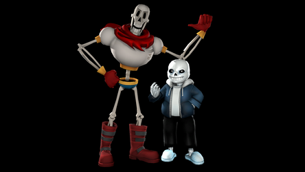 The Skeleton Brothers by Mario28037