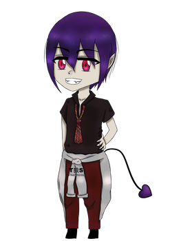 Chibi Devi (Transparent Background) by TheShirou