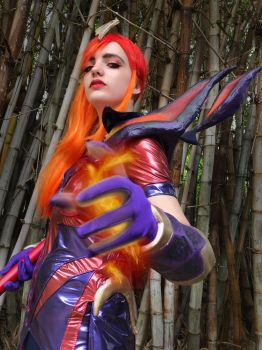League of Legends - Magma Lux Cosplay VIII by MeskaDvasia