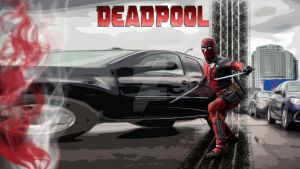 Deadpool Wallpaper by godslittlejoke