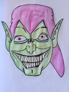 The Green Goblin *Marvel* by clgraphics