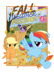 Fall Weather Friends Poster by Timon1771