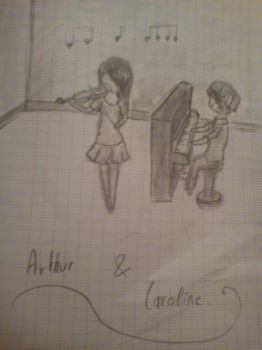 A and C Time to play music by Tsuki-Ouji