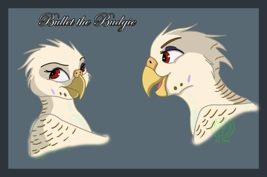 Bulllet collab commission by Thagirion