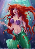 Ariel - Part of your world by Gwennys