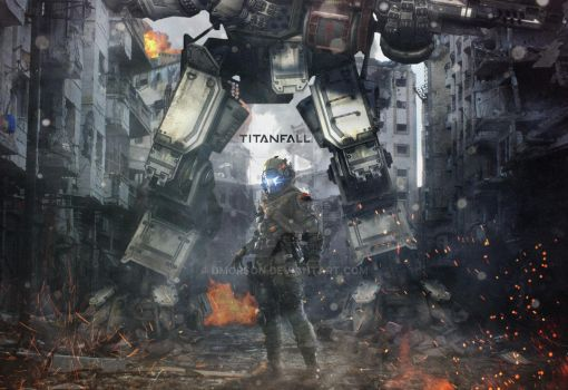 Titanfall Militia - Fan Art by dmorson