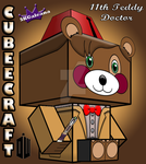 11th Doctor cubeecraft Teddy Bear Doctor Who 3D by SKGaleana