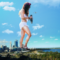 Giantess Vanessa Hudgens City Souviner by dochamps