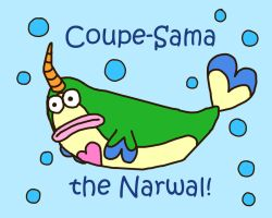 Coupe-Sama The Narwal by lillilotus