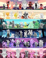 [RE-LOCATED] GIANT 54 GEM Adopt Batch! by Booty-Bae-Adopts