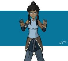 Hands Up Korra by MygaV2011