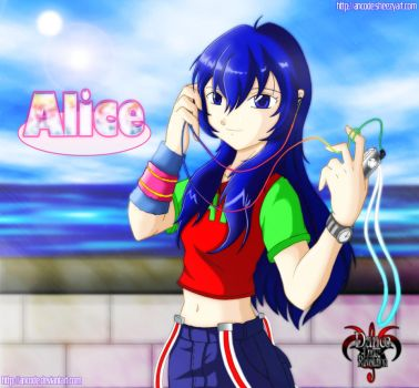 alice - by the beach by ancode