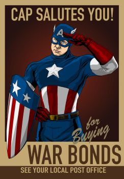 Cap Salutes You! by JoeGrafix