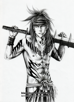 RENJI: Let's take a break and go to the hot spring by blackstorm