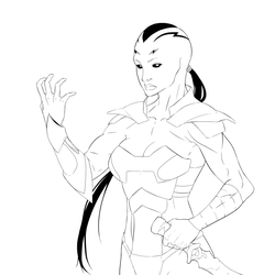 Caiera the Oldstrong by Black-Tsundere