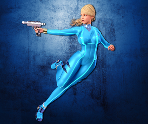 Zero Suit Samus Cosplay by holahov