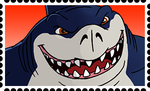 Ripster Stamp by RetroUniverseArt