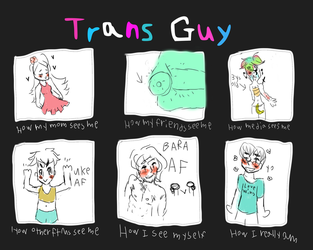 How people see me as a Trans* guy by PanTran