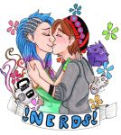 A Couple of Nerds by SquallsCorner