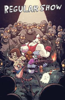 REGULAR SHOW #10 Cover B by TheWoodenKing